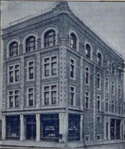 Pharmacie J.E. Tremble autrefois, Source: BAnQ