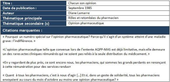 pharmacien datant d'un patient